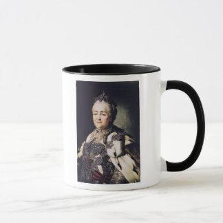 Portrait of Catherine II  of Russia Mug