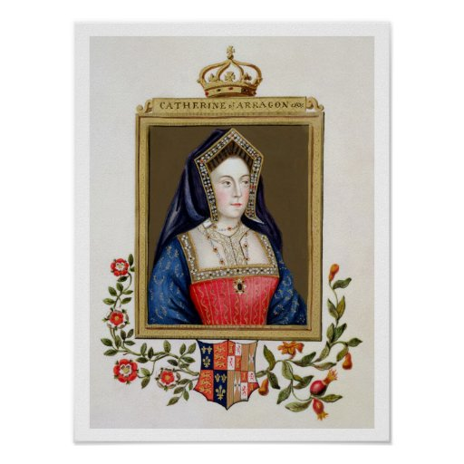 Portrait of Catherine of Aragon (1485-1536) 1st Qu