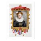 Portrait of Catherine Parr (1512-1548) Sixth Wife Postcard