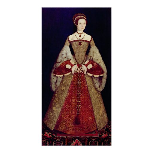 Portrait of Catherine Parr, 1545 Poster