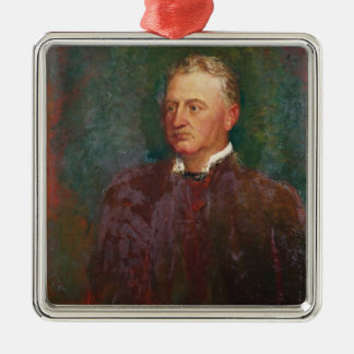 Portrait of Cecil John Rhodes  1898 Christmas Ornament