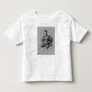 Portrait of Charles Augustin Sainte-Beuve  1856 Toddler T-Shirt