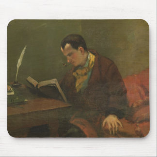 Portrait of Charles Baudelaire  1847 Mouse Pad