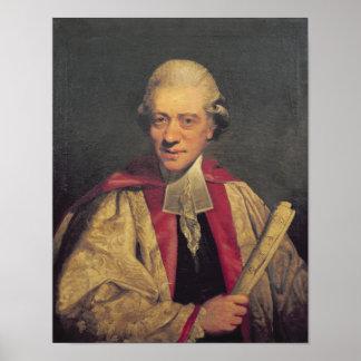 Portrait of Charles Burney, c.1781 Poster