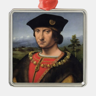 Portrait of Charles d'Amboise  Marshal of France Christmas Ornament