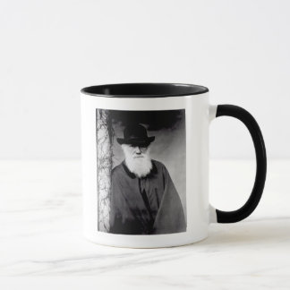 Portrait of Charles Darwin  1881 Mug