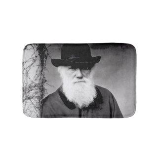 Portrait of Charles Darwin  1881 Bath Mats