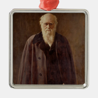 Portrait of Charles Darwin  1883 Christmas Ornament