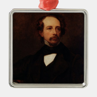Portrait of Charles Dickens  1855 Christmas Ornament