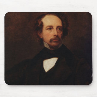 Portrait of Charles Dickens  1855 Mouse Pad