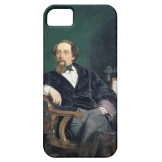 Portrait of Charles Dickens (oil on canvas) Barely There iPhone 5 Case