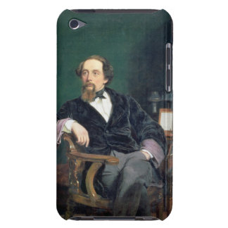 Portrait of Charles Dickens (oil on canvas) Barely There iPod Covers