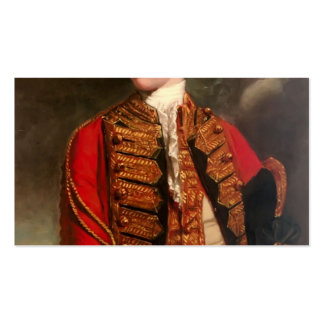 Portrait of Charles Fitzroy by Joshua Reynolds Business Card Templates