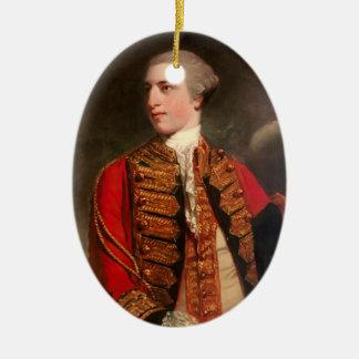 Portrait of Charles Fitzroy by Joshua Reynolds Christmas Ornament