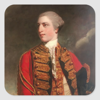 Portrait of Charles Fitzroy by Joshua Reynolds Sticker