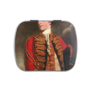 Portrait of Charles Fitzroy by Joshua Reynolds Jelly Belly Tin