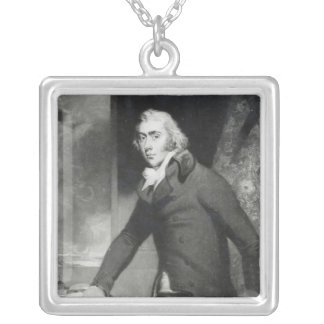 Portrait of Charles Grey, Earl Grey Silver Plated Necklace