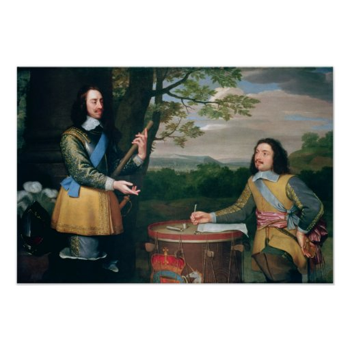 Portrait of Charles I and Sir Edward Walker
