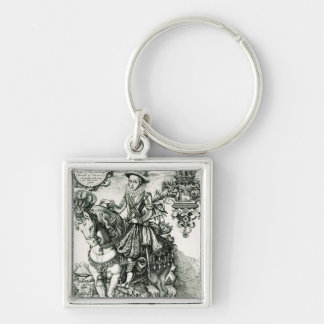 Portrait of Charles I as a Prince Key Ring