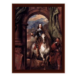 Portrait Of Charles I, King Of England Post Cards
