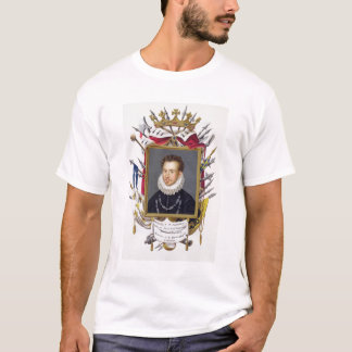 Portrait of Charles IX of France (1550-74) from 'M T-Shirt