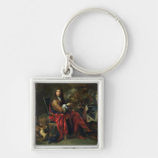 Portrait of Charles Le Brun (1619-90) 1686 (oil on Key Ring