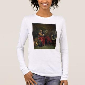 Portrait of Charles Le Brun (1619-90) 1686 (oil on Long Sleeve T-Shirt