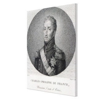 Portrait of Charles of France Canvas Print