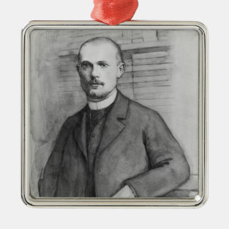 Portrait of Charles Peguy Christmas Ornament