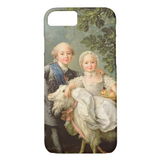 Portrait of Charles Philippe of France (1757-1836) iPhone 8/7 Case