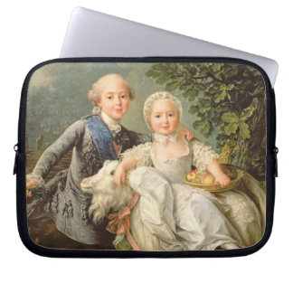 Portrait of Charles Philippe of France (1757-1836) Laptop Sleeve