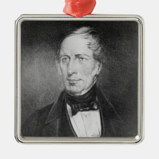 Portrait of Charles Sturt  at the age of 54 Christmas Ornament