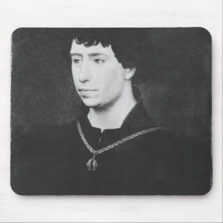 Portrait of Charles the Bold Mouse Mat