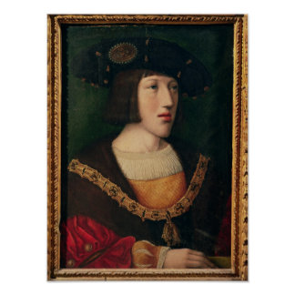 Portrait of Charles V Poster