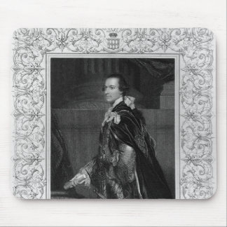 Portrait of Charles Wentworth Mouse Pad