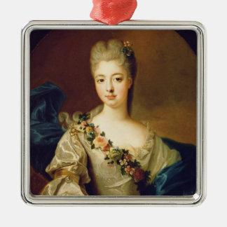 Portrait of Charlotte Aglae of Orleans, 1720s Christmas Ornament