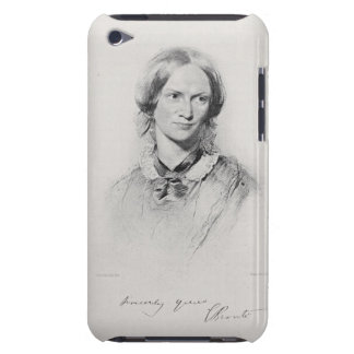 Portrait of Charlotte Bronte, engraved by Walker a iPod Case-Mate Case