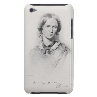Portrait of Charlotte Bronte, engraved by Walker a iPod Touch Case-Mate Case