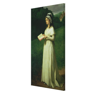 Portrait of Charlotte Corday Canvas Print