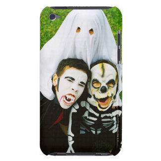 Portrait of children (6-10) dressed in Halloween Case-Mate iPod Touch Case