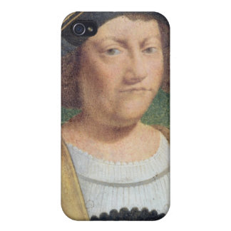 Portrait of Christopher Columbus iPhone 4 Covers