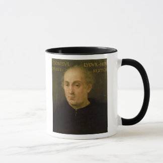 Portrait of Christopher Columbus Mug