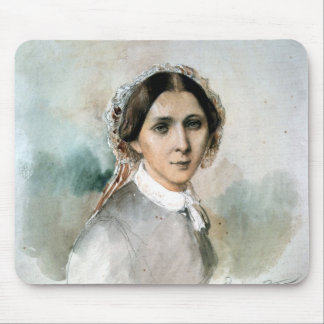 Portrait of Clara Schumann  1853 Mouse Pad