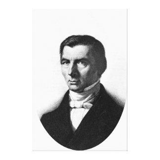 Portrait of Classical Liberal Frederic Bastiat Canvas Prints