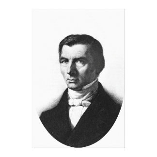 Portrait of Classical Liberal Frederic Bastiat Canvas Prints