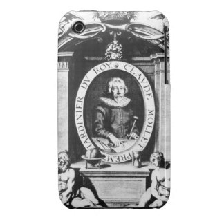 Portrait of Claude Mollet, frontispiece to 'Theatr iPhone 3 Case-Mate Case