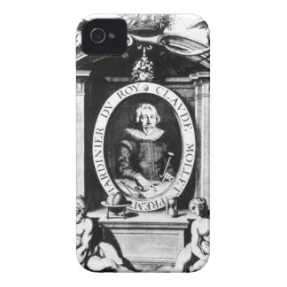 Portrait of Claude Mollet, frontispiece to 'Theatr iPhone 4 Case-Mate Case