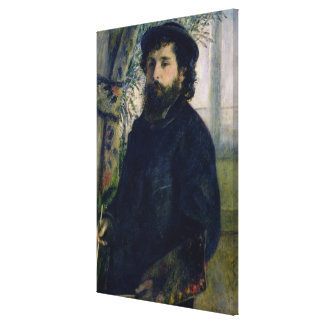 Portrait of Claude Monet  1875 Gallery Wrapped Canvas