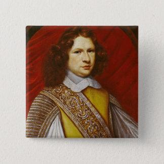 Portrait of Coeffier de Ruze d'Effiat  Marquis 15 Cm Square Badge