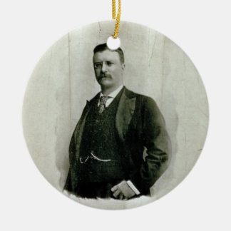Portrait of Colonel Theodore Roosevelt (litho) Christmas Ornament